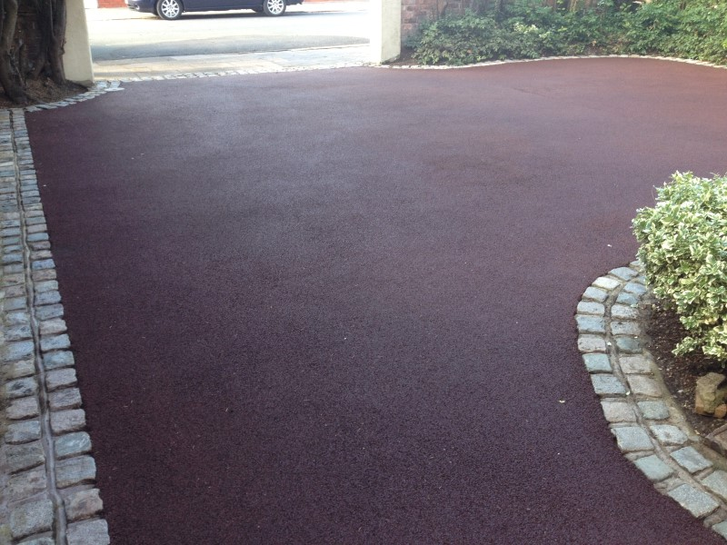 image of tarmac driveway cleaning in preston lancashire