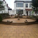 Image of patio after cleaning in southport merseyside