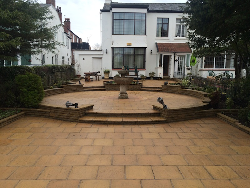Patio cleaning Southport Merseyside