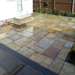 image of patio cleaning in southport merseyside