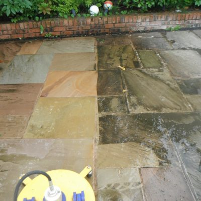 Driveway & patio cleaning Formby